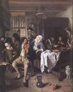 Jan Steen Interior of a Tavern (mk25 oil painting picture wholesale