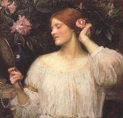 John William Waterhouse Wildflowers (mk41) oil painting picture wholesale