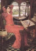 John William Waterhouse i and Half-sick of shadows said the Lady of Shalott (mk41) oil painting picture wholesale