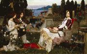 John William Waterhouse St Cecilia (m41) oil painting picture wholesale
