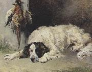 John emms An English Setter at the end of the Day (mk37) oil painting picture wholesale