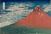 Katsushika Hokusai Mount Fuji in Clear Weather (nn03) oil painting picture wholesale