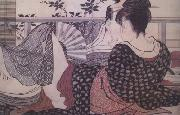 Kitagawa Utamaro Loves (from the Poem of the Pillow) (nn03) oil painting picture wholesale