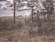 Lovis Corinth Fishermen's Cemetery at Nidden (nn02) oil painting artist