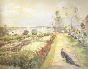 Max Slevogt Flower Garden in Neu-Cladow (nn02) oil painting picture wholesale
