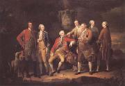 Richard Brompton The Duke of York with his Entourage in the Veneto (mk25) oil painting artist