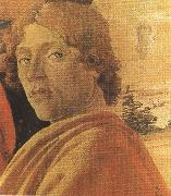 Sandro Botticelli Young man in a Yellow mantle (mk36) oil painting picture wholesale