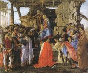 Sandro Botticelli Adoration of the Magi (mk36) oil painting picture wholesale