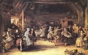 Sir David Wilkie The Penny Wedding (mk25) oil painting picture wholesale