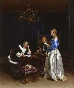 TERBORCH, Gerard The Letter (mk25 oil painting picture wholesale