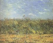 Vincent Van Gogh Wheat Field with a Lark (nn04) oil painting picture wholesale