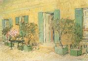 Vincent Van Gogh Exterio of a Restaurant at Asnieres (nn04) oil painting picture wholesale