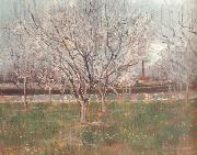 Vincent Van Gogh Orchard in Blossom (nn04) oil painting picture wholesale