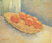 Vincent Van Gogh Still Life:Basket with Six Oranges (nn04) oil painting picture wholesale