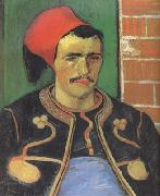 Vincent Van Gogh The Zouave (nn04) oil painting picture wholesale