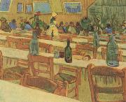 Vincent Van Gogh Interio of the Restaurant Carrel in Arles (nn04) oil painting picture wholesale