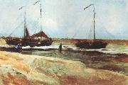 Vincent Van Gogh Beach at Scheveningen in Calm Weather (nn04) oil painting picture wholesale