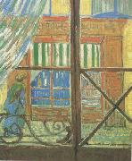 Vincent Van Gogh A Pork-Butcher's Shop Seen from a Window (nn04) oil painting picture wholesale