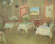 Vincent Van Gogh Interior of a Restaurant (nn04) oil painting picture wholesale