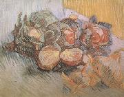 Vincent Van Gogh Still life with Red Cabbages and Onions (nn04) oil painting picture wholesale