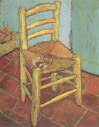 Vincent Van Gogh Vincent's Chair with His Pipe (nn04) oil painting picture wholesale