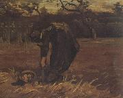 Vincent Van Gogh Peasant Woman Digging Up Potatoes (nn04) oil painting picture wholesale