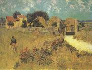 Vincent Van Gogh Farmhous in Provence (nn04) oil painting picture wholesale
