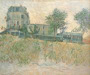 Vincent Van Gogh The Restaurant de la Sirene at Asnieres (nn04) oil painting picture wholesale