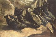 Vincent Van Gogh Three Pairs of Shoes (nn04) oil painting picture wholesale