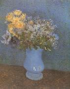 Vincent Van Gogh Vase wtih Lilacs,Daisies and Anemones (nn04) oil painting picture wholesale