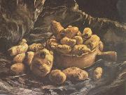 Vincent Van Gogh Still life with an Earthen Bowl and Potatoes (nn04) oil painting picture wholesale