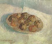 Vincent Van Gogh Still life wtih Basket of Apples (nn04) oil painting picture wholesale