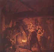 WRIGHT, Joseph The Forge (nn03) oil painting picture wholesale
