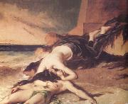 William Etty Hero and Leander (nn03) oil painting picture wholesale