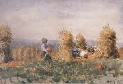 Winslow Homer Pumpkin Patch (mk44) oil painting picture wholesale