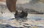 Winslow Homer Returning Fishing Boarts (mk44) oil painting picture wholesale