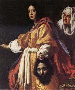 ALLORI  Cristofano Judith with the Head of Holofernes oil painting artist