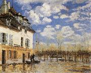 Alfred Sisley The Bark during the Flood oil painting picture wholesale
