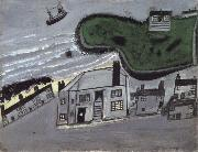 Alfred Wallis The Hold House Port Mear Square Island port Mear Beach oil painting picture wholesale