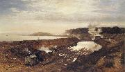 Benjamin Williams Leader The Excavation of the Manchester Ship Canal oil painting picture wholesale