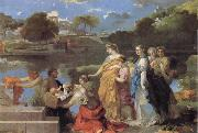 Bourdon, Sebastien The Finding of Moses oil painting picture wholesale