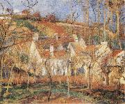 Camille Pissarro Red Roofs oil painting picture wholesale