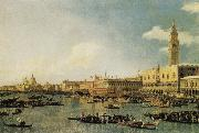 Canaletto Venice:The Basin of San Marco on Ascension Day oil painting picture wholesale