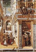 Carlo Crivelli Annunciation with St Emidius oil painting picture wholesale
