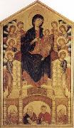 Cimabue Madonna and Child Enthroned with Angels and Prophets oil painting picture wholesale