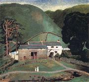 Dora Carrington Farm at Watendlath oil painting artist