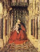 EYCK, Jan van The Virgin and Child in a Church oil painting picture wholesale
