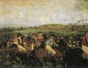 Edgar Degas The Gentlemen-s Race oil painting picture wholesale