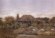 Edward La Trobe Bateman The homestead,Cape Schanck oil painting picture wholesale