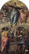 El Greco Assumption of the Virgin oil painting picture wholesale